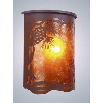 Steel Partners Pinecone 1 Light Wall Lantern