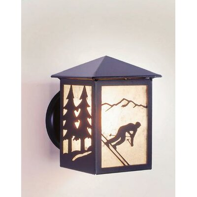 Steel Partners 1 Light Wall Lantern
