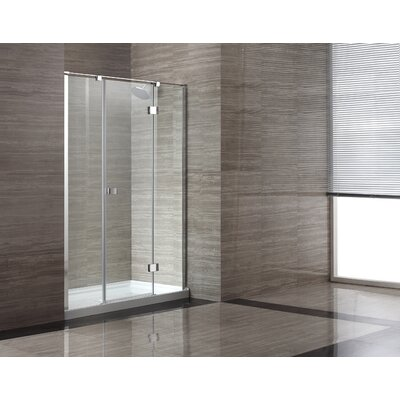 Glass Pivot Door Shower Enclosure Product Photo