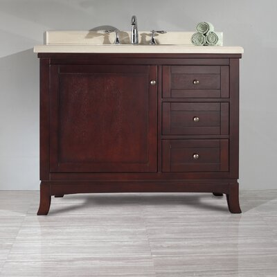 "Valega 42"" Single Bathroom Vanity Set Product Photo"