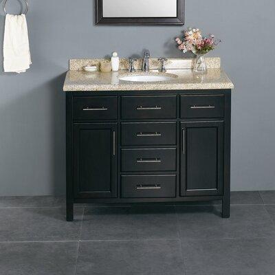 "Milan 42"" Single Bathroom Vanity Set Product Photo"