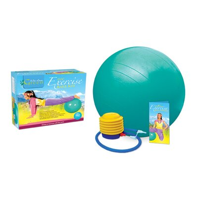 Wai Lana Phthalate-Free Exercise Ball Kit with Poster