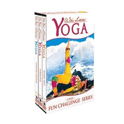 Wai Lana Yoga Fun Challenge DVD Tripack