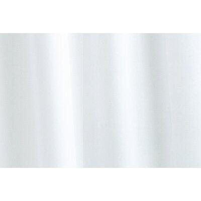 Plain Vinyl Shower Curtain by Croydex