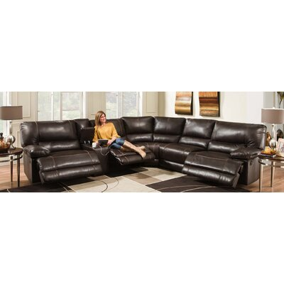 Bane 6 Piece Sectional Recliner Sofa by Chelsea Home Furniture