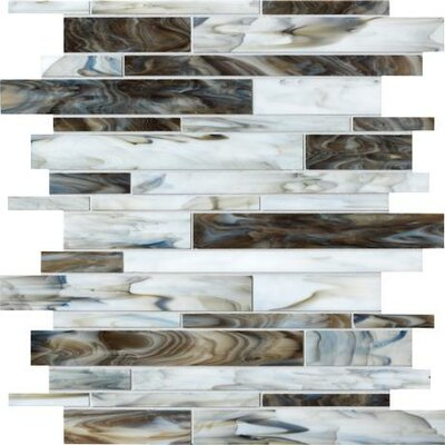Catwalk Random Sized Porcelain Mosaic Tile in Sable Slipper Product Photo