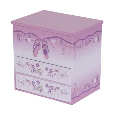 Poppy Girl's Musical Ballerina Jewelry Box by Tori Home