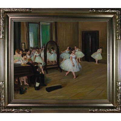 The Dancing Class Canvas Art by Edgar Degas Impressionism by Tori Home