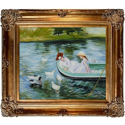 Cassatt Summertime Canvas Art by Tori Home