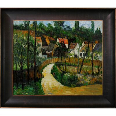 Cezanne Turn in The Road Canvas Art by Tori Home