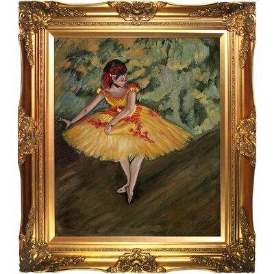 Degas Dancer Making Points Canvas Art by Tori Home