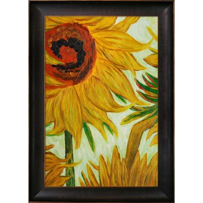Van Gogh Sunflowers Canvas Art by Tori Home