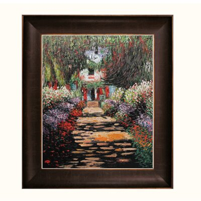 Monet Garden Path at Giverny Canvas Art by Tori Home