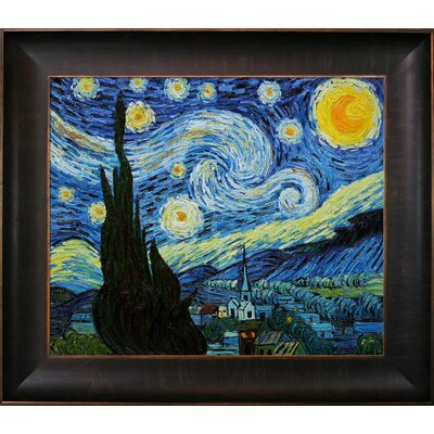 Van Gogh Starry Night Canvas Art by Tori Home