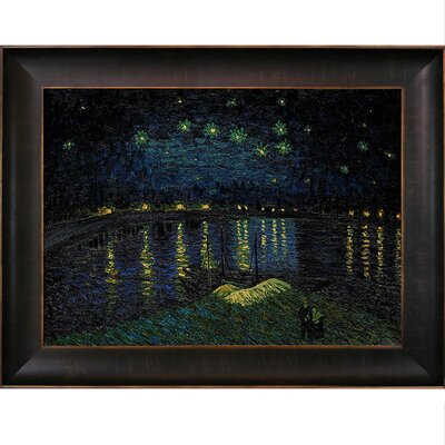 Van Gogh Starry Night Over the Rhone Canvas Art by Tori Home