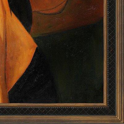Tori Home Portrait of Woman in Hat (Jeanne Hebuterne in Large Hat), 1917 Canvas Art