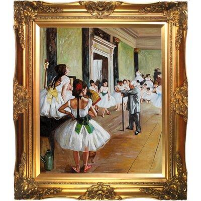The Dance Class Canvas Art by Tori Home