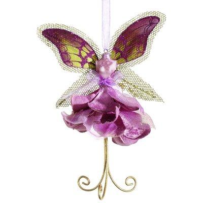 Princess Garden and Fairy Dress Glitter Christmas Ornament by Tori Home