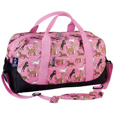 Wildkin Horses Overnighter Duffel Bag in Pink