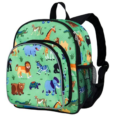 Olive Kids Wild Animals Pack 'n Snack Backpack by Wildkin