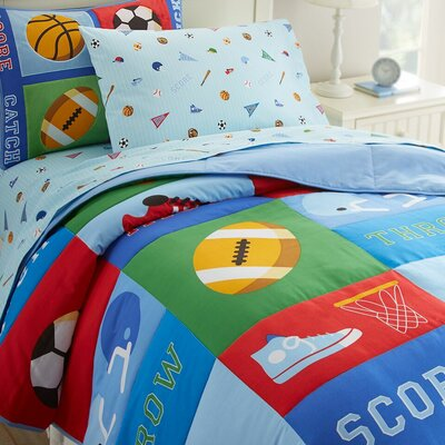 Olive Kids Game On Comforter Collection by Wildkin
