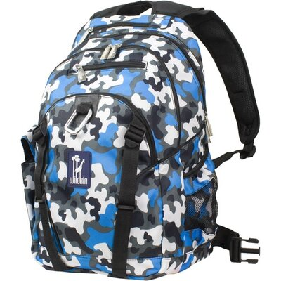 Camo Blue Serious Backpack by Wildkin
