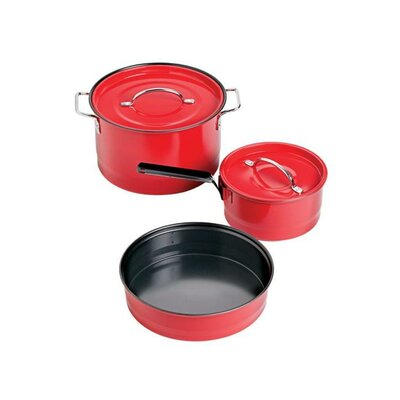 Family Enamel 5-Piece Cookware Set by Coleman