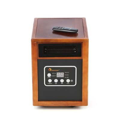 Dr. Infrared Heater 1,500 Watt Portable Electric Infrared Cabinet Heater