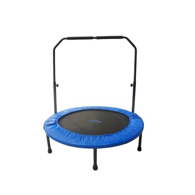 "40"" Mini Rebounder Foldable Fitness Trampoline Product Photo"