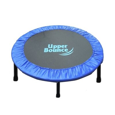 "Two-Way Foldable Rebounder 40"" Trampoline with Carry-on Bag Product Photo"