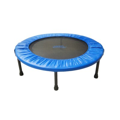 "Two-Way Foldable Rebounder 36"" Trampoline with Carry-on Bag Product Photo"