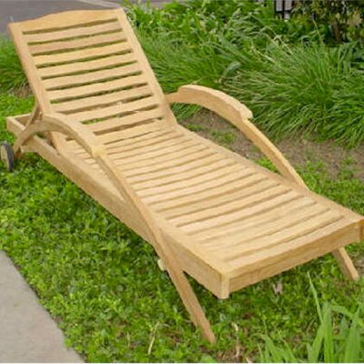 Innova Chaise Lounge by Anderson Teak