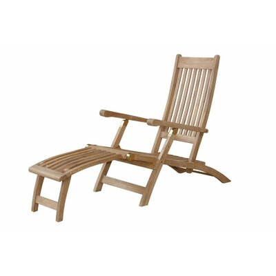 Tropicana Steamer Lounge Chair by Anderson Teak
