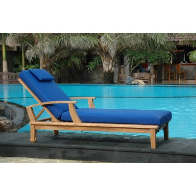 Brianna Chaise Lounge by Anderson Teak