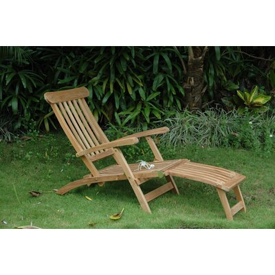 Royal Steamer Lounge Chair by Anderson Teak