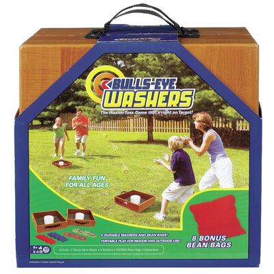 POOF-Slinky, Inc Bulls-Eye Washers and Bean Bag Toss Game