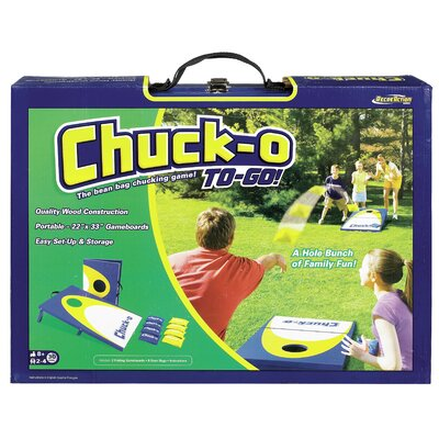Chuck-O To Go Classic Bean Bag Toss Game by POOF-Slinky