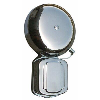 """Morris Products 3"""" Home Door Bell in Satin Aluminum"""