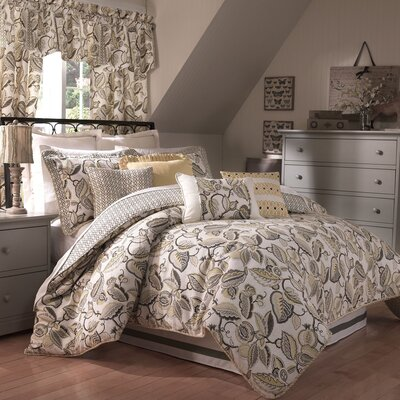 Fantasy Fleur 4 Piece Comforter Set by Waverly