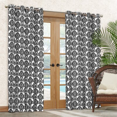 Sun-n-Shade Luminary Single Curtain Panel I Product Photo