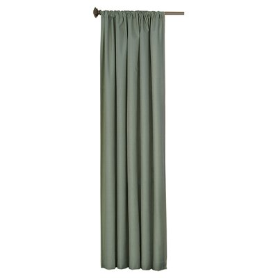 Eclipse Curtains Kendall Rod Pocket Window Single Curtain