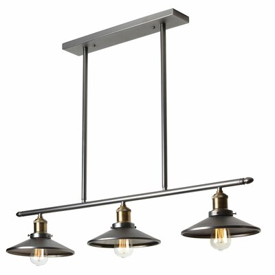 dainolite 3 light kitchen island pendant reviews wayfair