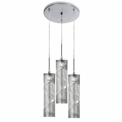 Umbra 3 Light Pendant by Dainolite