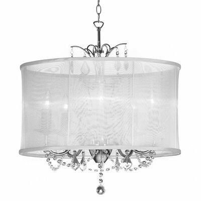 Viviane 5 Light Crystal Chandelier Product Photo