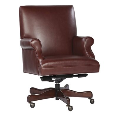 Hekman Leather Conference Chair