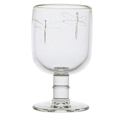 Libellules 7.5-ounce Dragonfly Wine Glasses by La Rochere