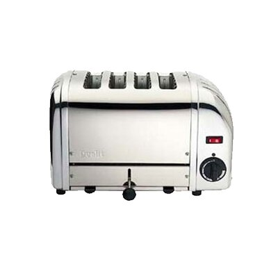 4 Slice Toaster (Chrome) by Dualit
