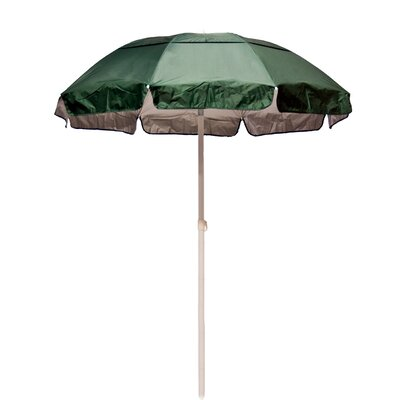 6 ft. Diameter Solar Reflective Beach Umbrella by Frankford Umbrellas