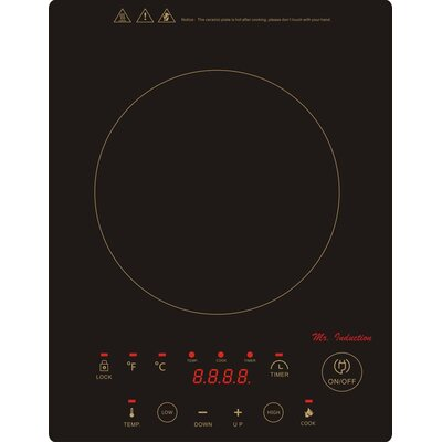 "11.63"" Electric Induction Cooktop with 1 Burner Product Photo"