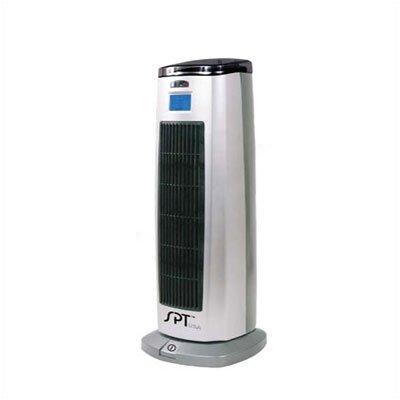 Sunpentown 1,500 Watt Portable Electric Fan Tower Heater with Lonizer